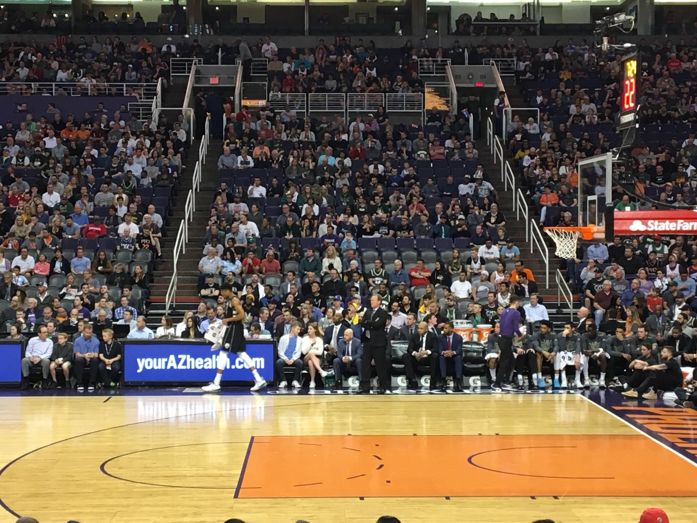 Phoenix Suns Seating Guide Talking Stick Resort Arena