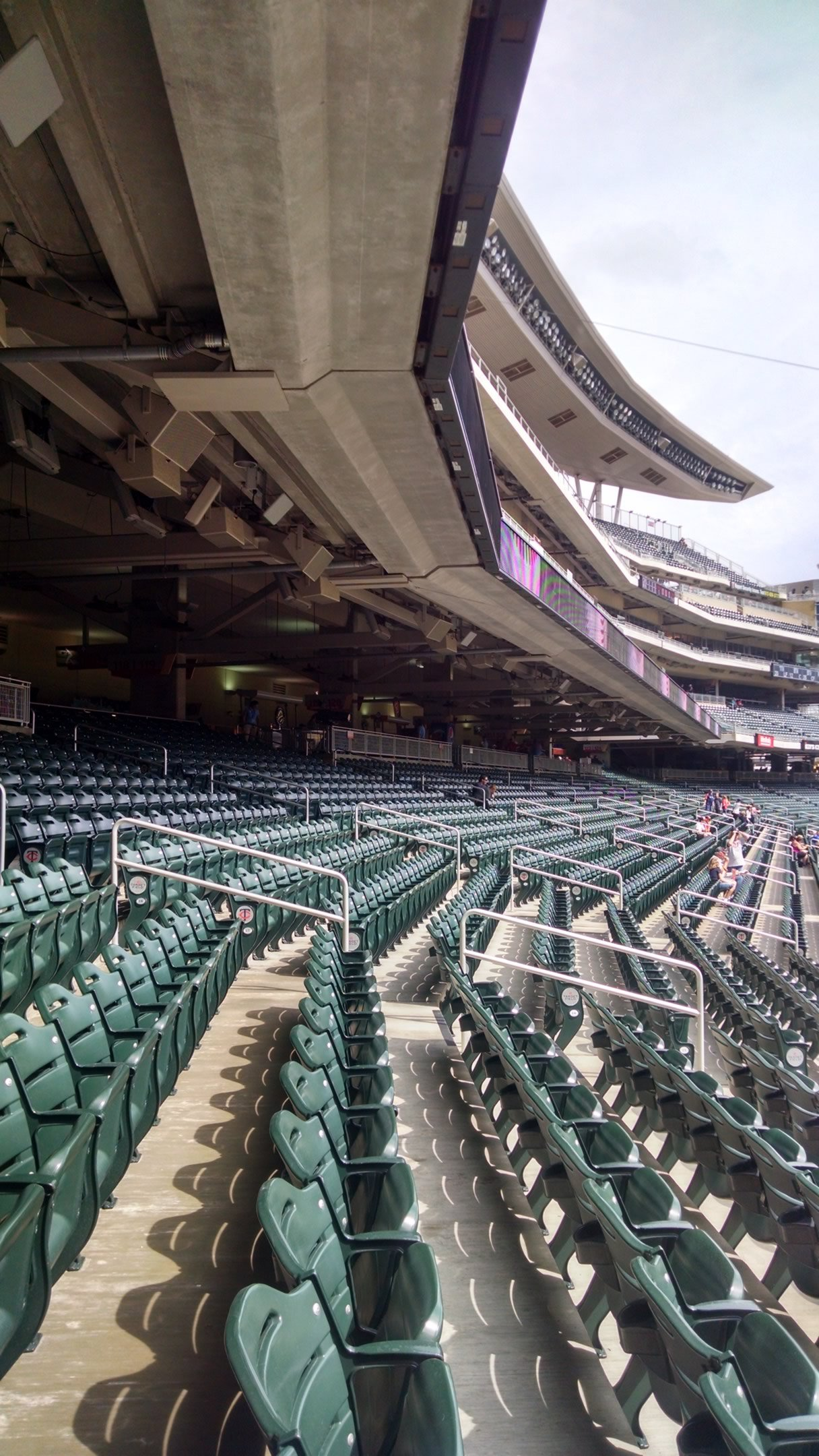 Minnesota Twins Seating Guide - Target Field - RateYourSeats com