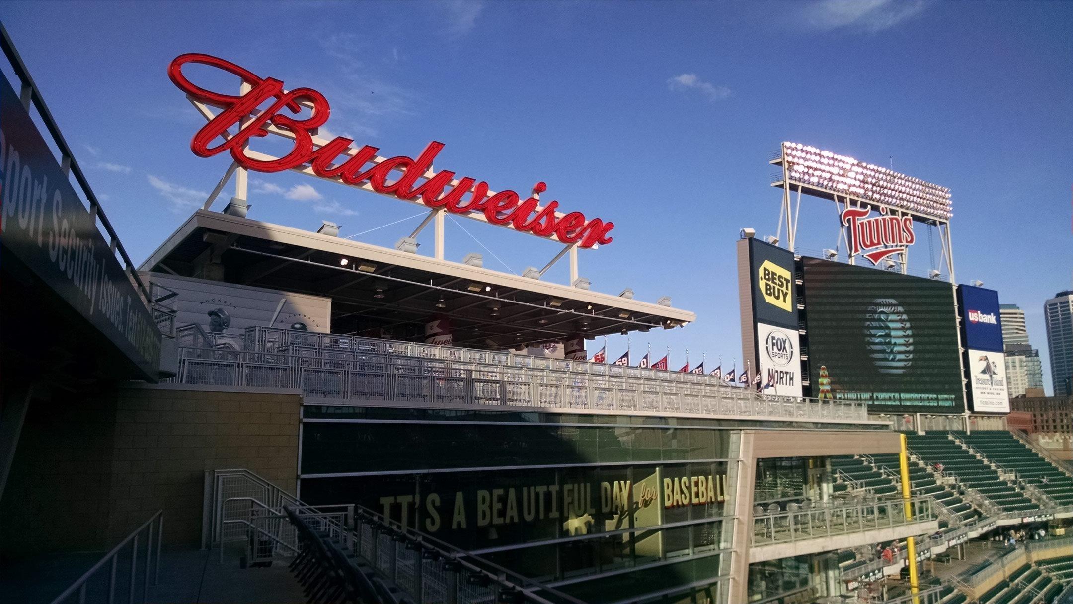 Minnesota Twins Seating Guide Target Field