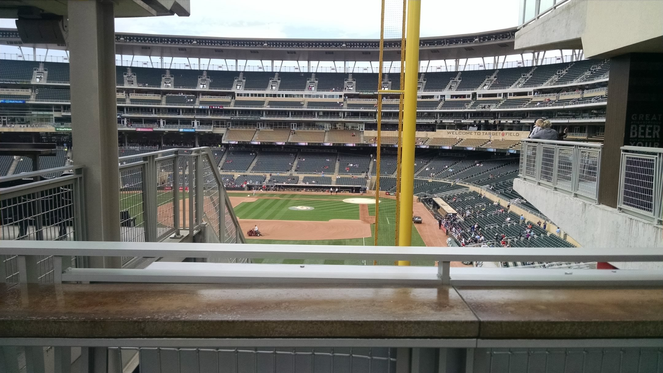 Target Field Standing Room Only