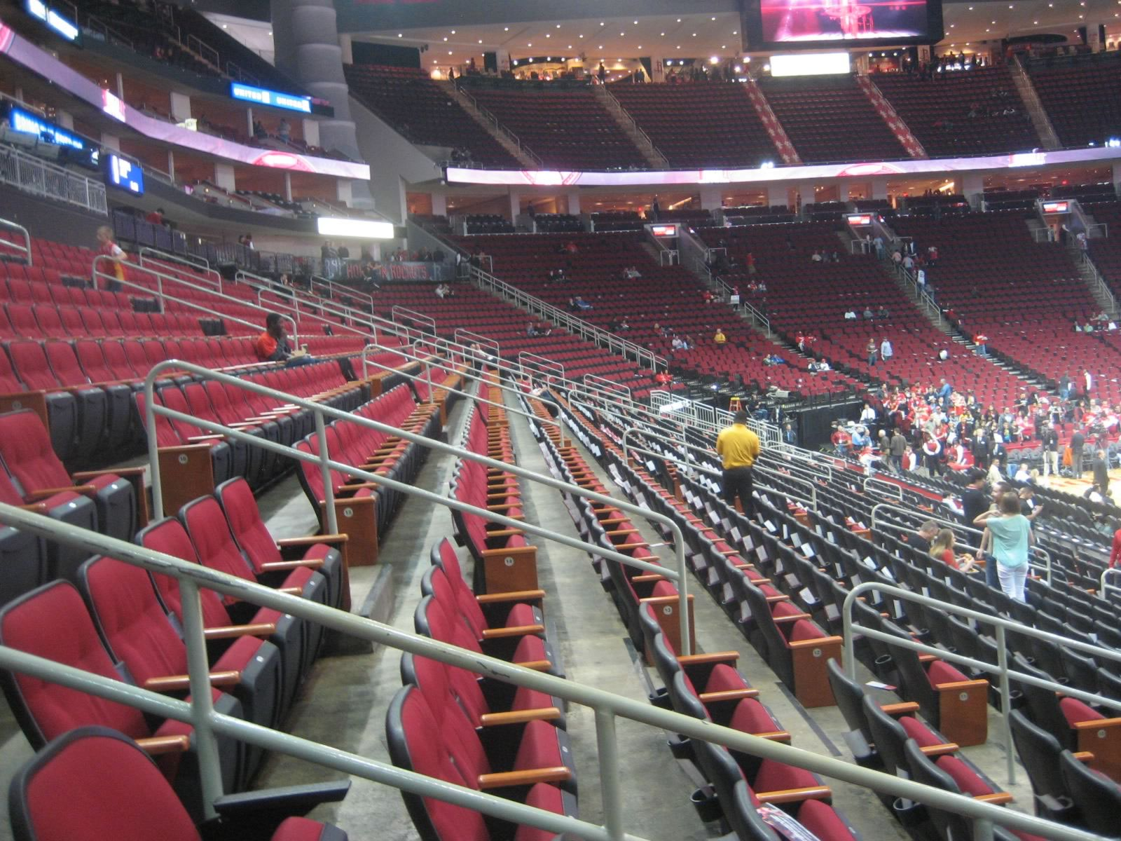 houston rockets club seats at toyota center - rateyourseats