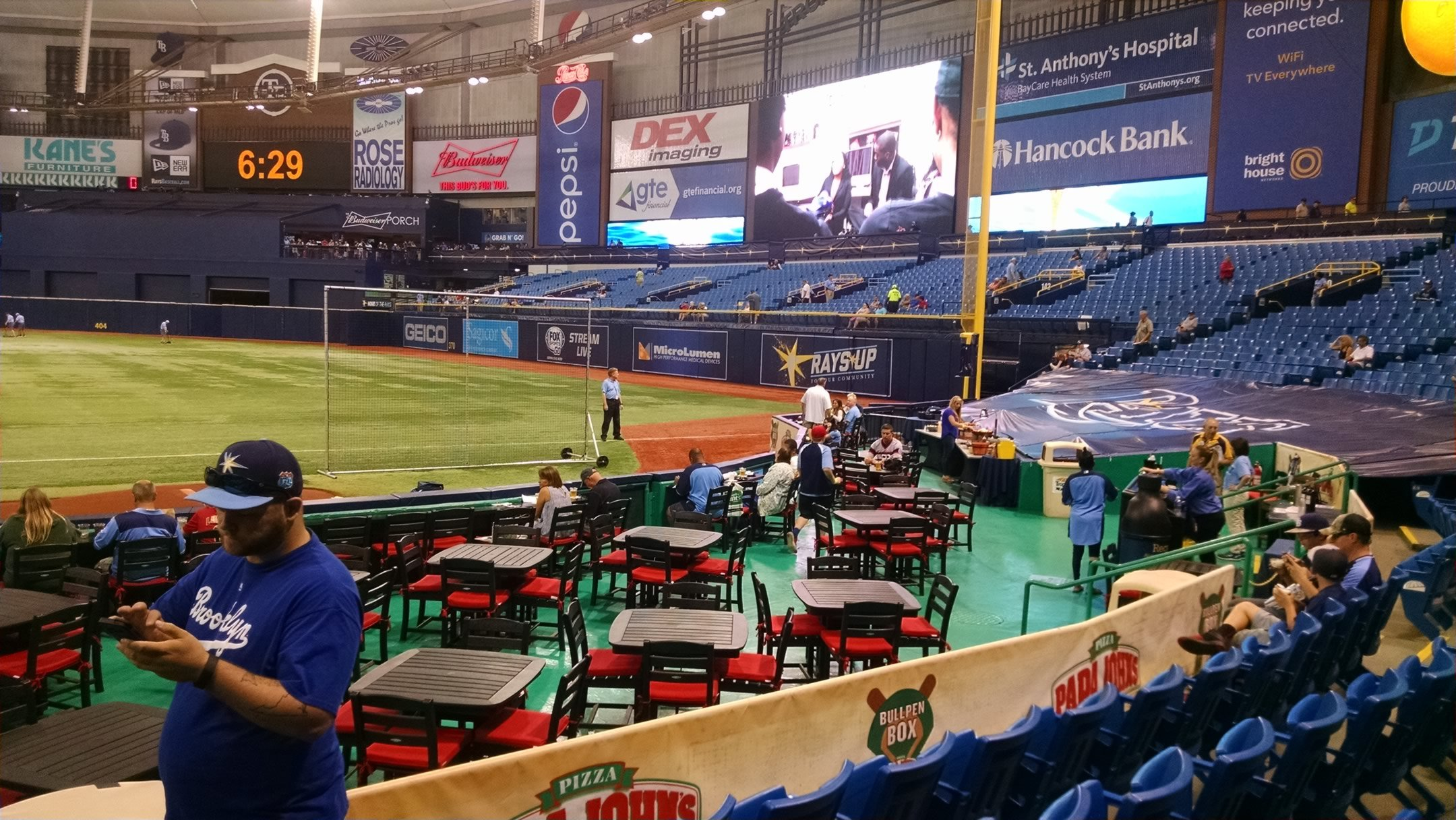 Tampa Bay Rays Seating Guide Tropicana Field