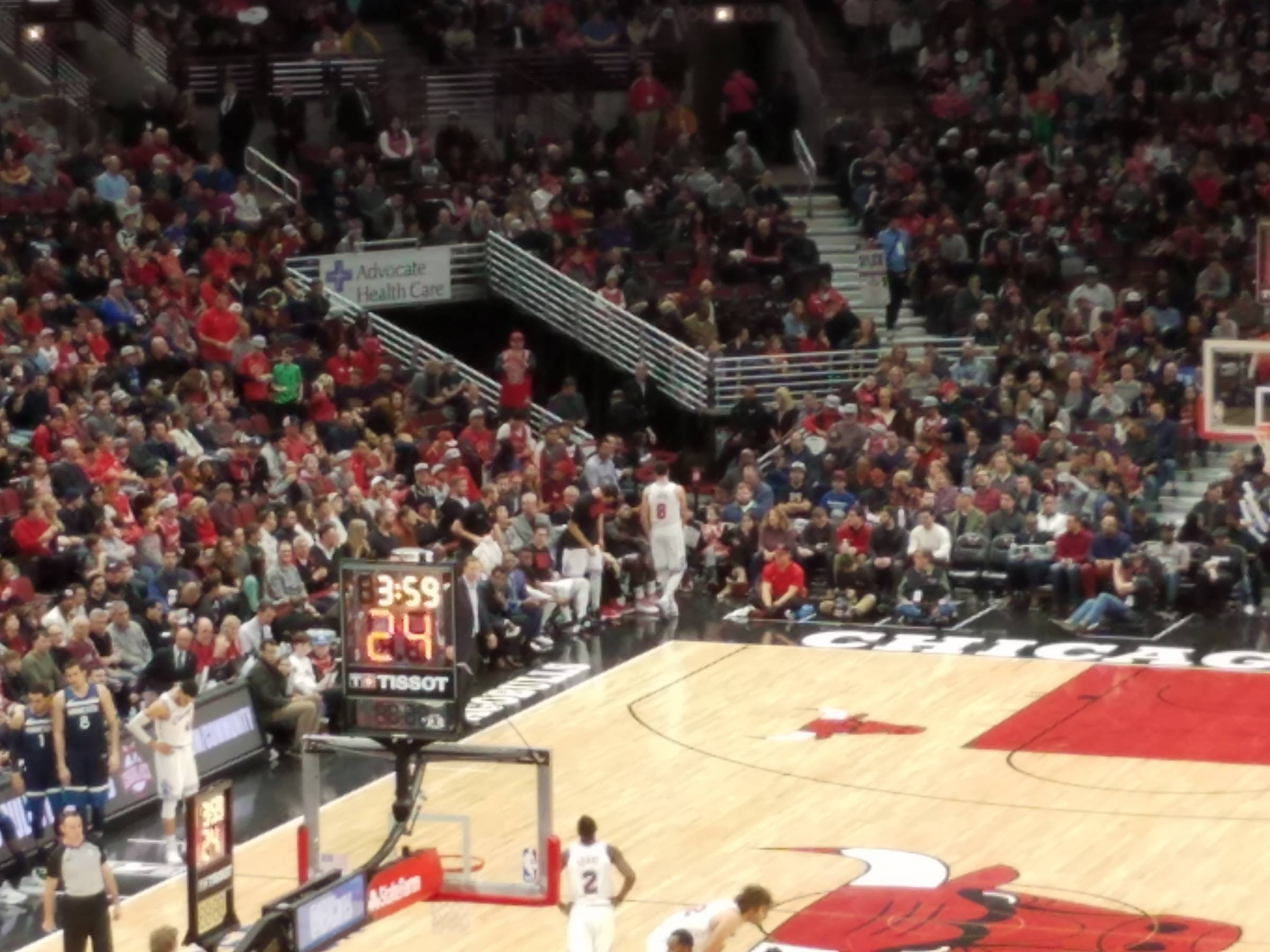 Chicago Bulls Seating Guide United Center Rateyourseats Com