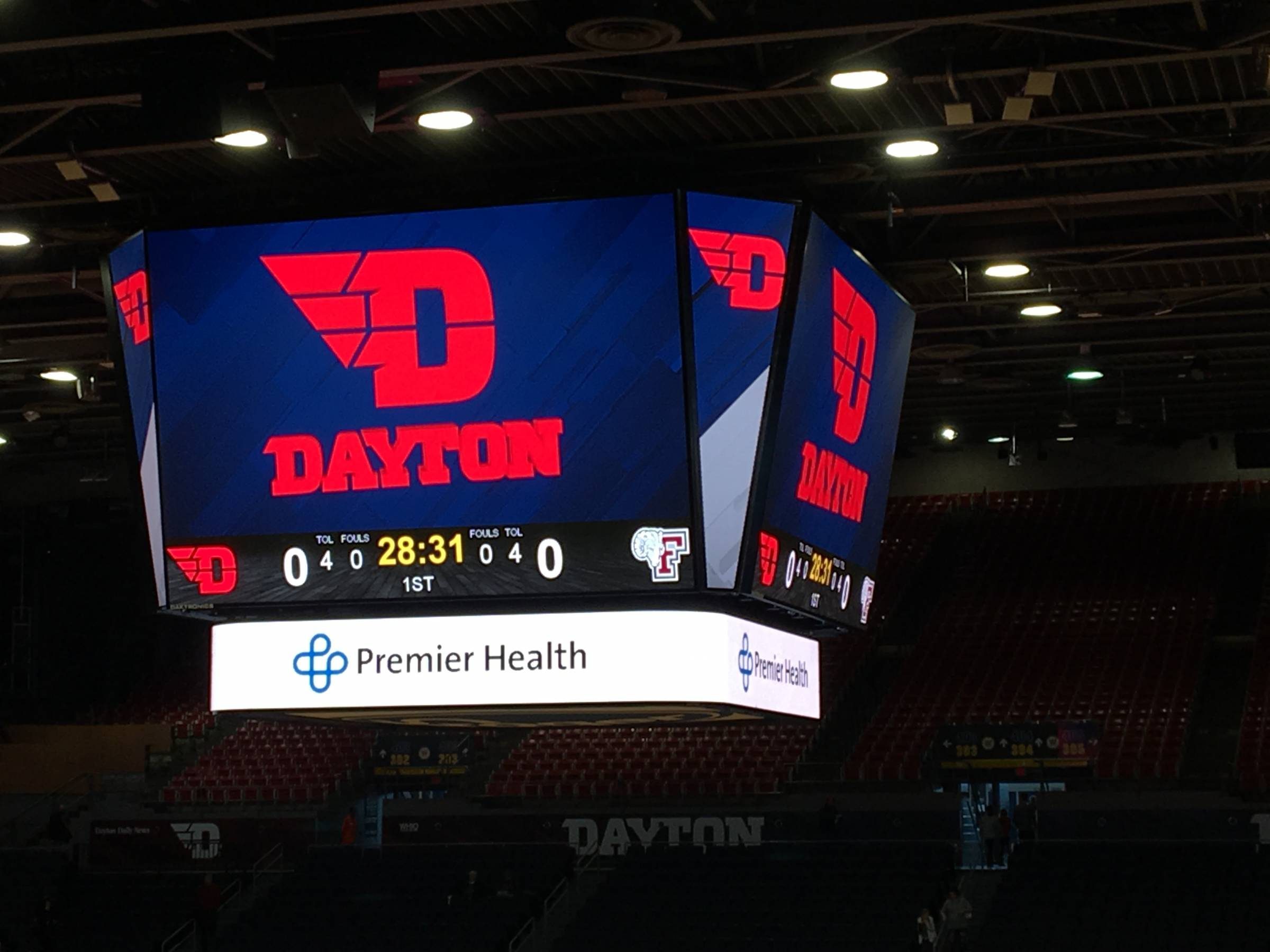 University Of Dayton Arena Dayton Seating Guide Rateyourseatscom