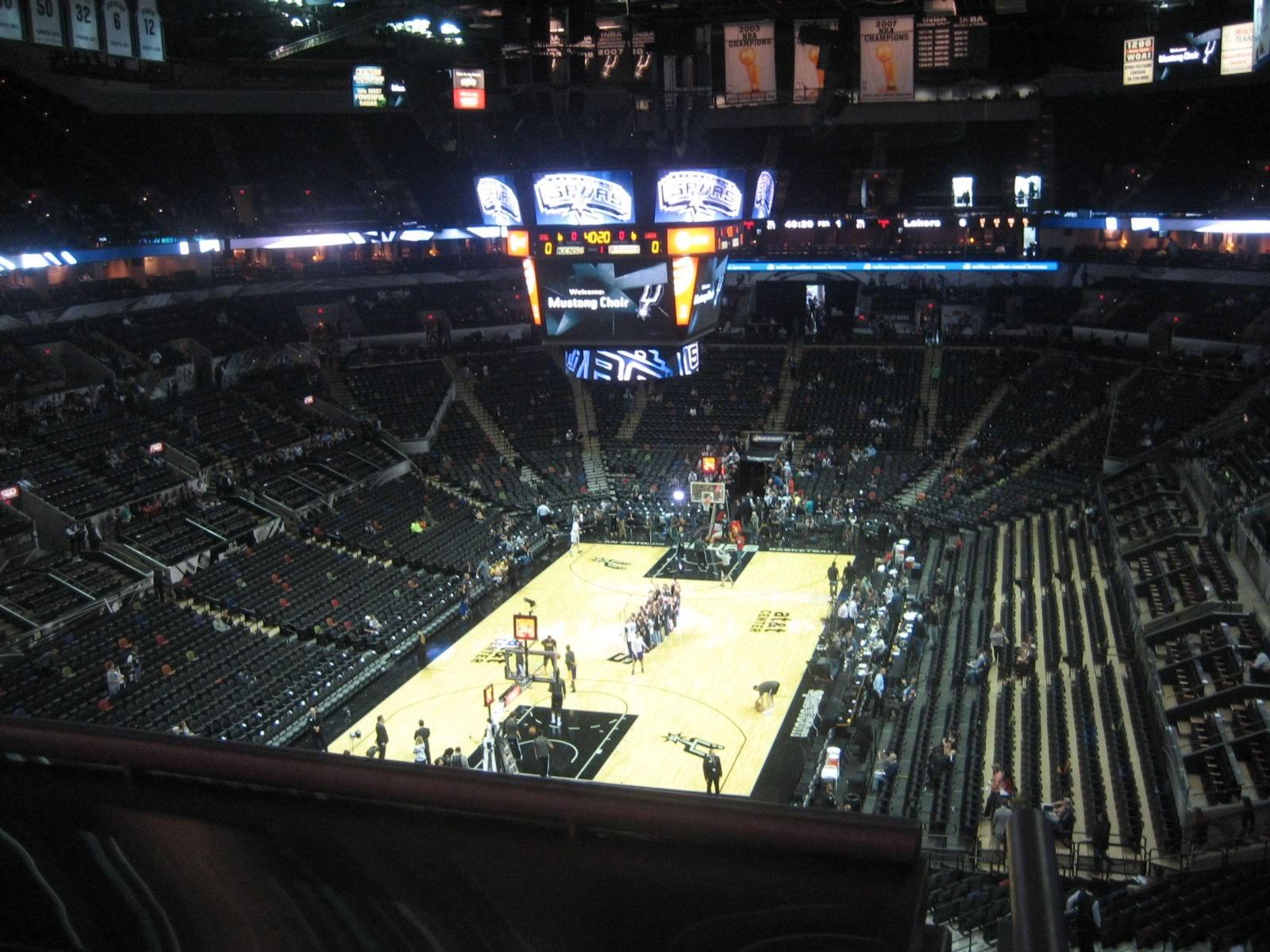 San Antonio Spurs Seating Guide Att Center