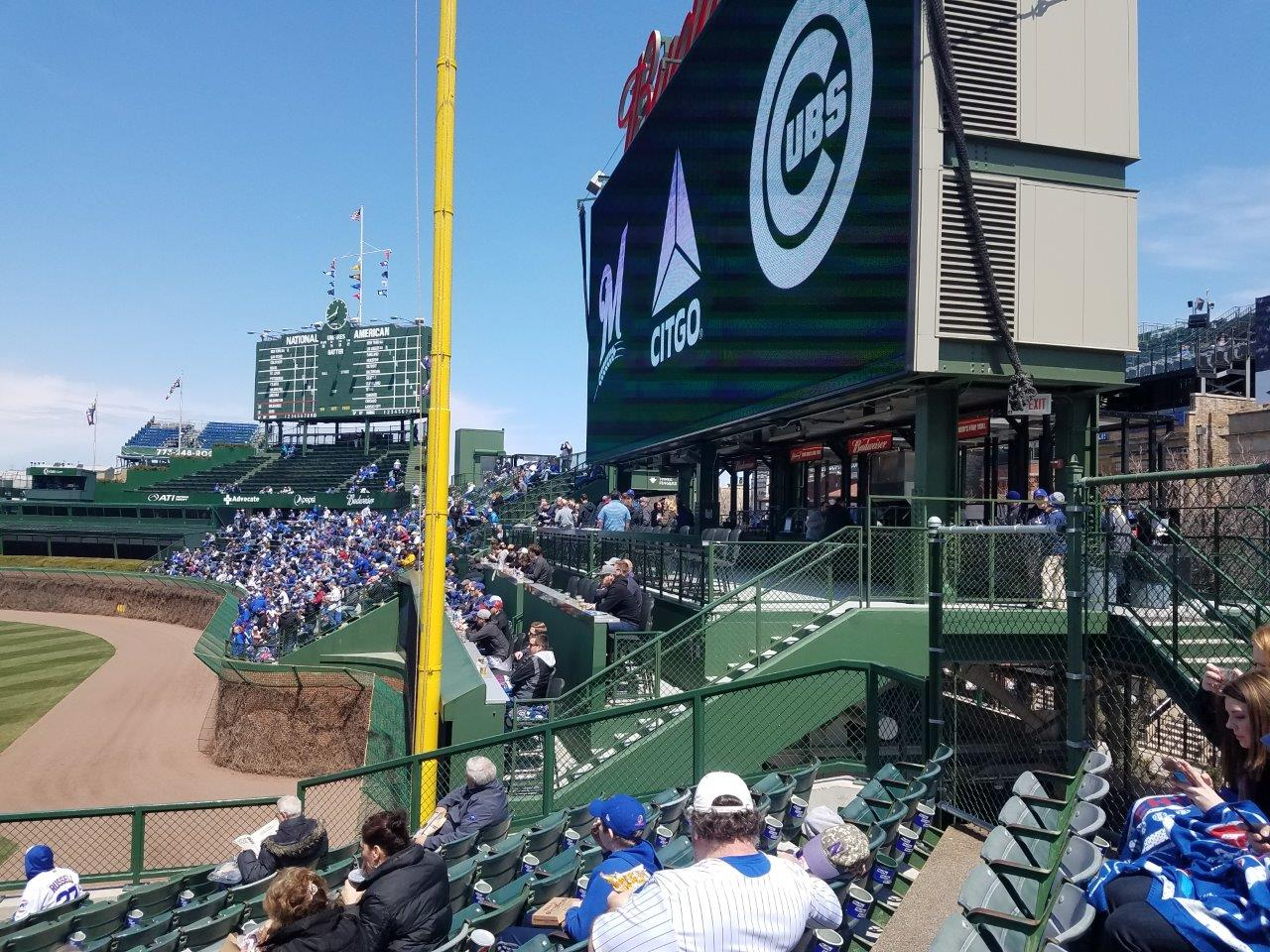 Chicago Cubs Seating Guide Wrigley Field Rateyourseatscom