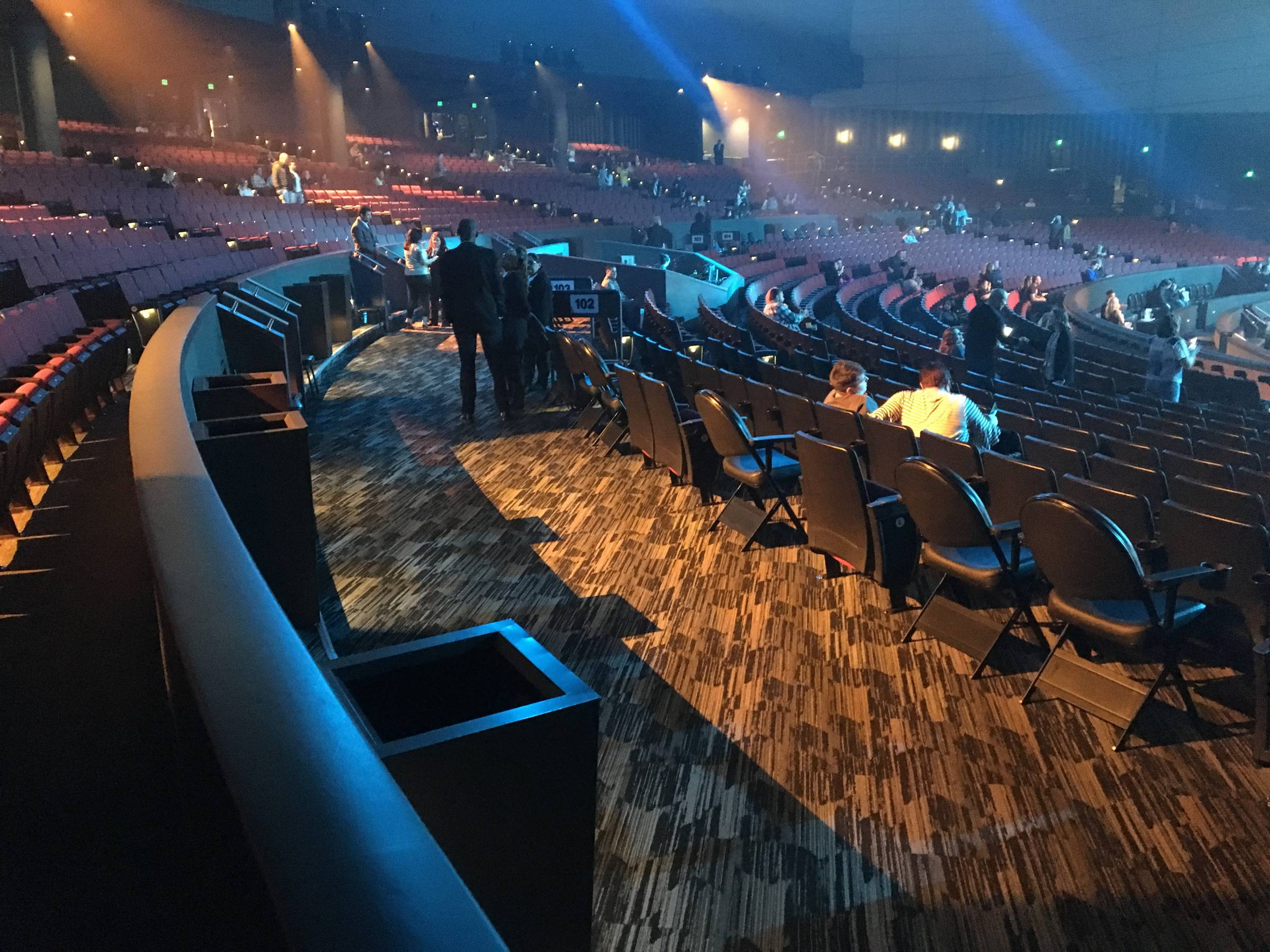 ADA Seating at Zappos Theater