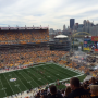 Seat View for Heinz Field Section 533, Row U, Seat 9