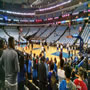 Dallas Mavericks Seat View for American Airlines Center Section 116, Row H