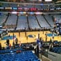 Dallas Mavericks Seat View for American Airlines Center Section 119, Row O