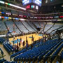 Dallas Mavericks Seat View for American Airlines Center Section 121, Row O