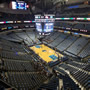 Dallas Mavericks Seat View for American Airlines Center Section 321, Row A