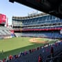 Seat View for Angel Stadium Section 205, Row F