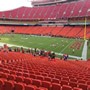 Seat View for Arrowhead Stadium Section 133, Row 30