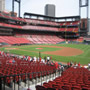 Seat View for Busch Stadium Section 140, Row 16