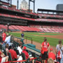 Seat View for Busch Stadium Section 140, Row E