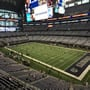 Dallas Cowboys Seat View for AT&T Stadium Section 329, Row 3