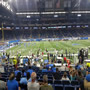 Seat View for Ford Field Section 104, Row 17