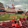 Seat View for Great American Ball Park Section 130, Row W