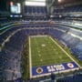 Indianapolis Colts Seat View for Lucas Oil Stadium Section 402, Row 16