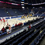 Basketball Seat View for Nationwide Arena Section 105, Row G