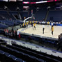 Basketball Seat View for Nationwide Arena Section 115, Row G