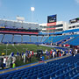 Seat View for New Era Field Section 132, Row 12