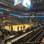 Denver Nuggets Seat View for Pepsi Center Section 106, Row 7