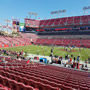 Seat View for Raymond James Stadium Section 111, Row X