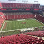 Seat View for Raymond James Stadium Section 308, Row X