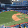 Seat View for Rogers Centre Section 533, Row 9