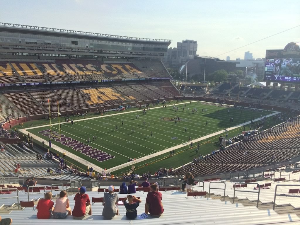 Minnesota Football TCF Bank Stadium Seating Chart ...