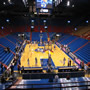 Seat View for Allen Fieldhouse Section 12, Row 8