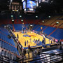 Seat View for Allen Fieldhouse Section 13, Row 8