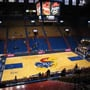 Seat View for Allen Fieldhouse Section 17, Row 18