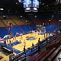 Seat View for Allen Fieldhouse Section 20, Row 8