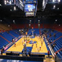 Seat View for Allen Fieldhouse Section 22, Row 8