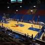 Seat View for Allen Fieldhouse Section 4, Row 6