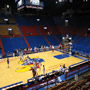 Seat View for Allen Fieldhouse Section 7, Row 6