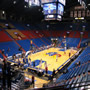 Seat View for Allen Fieldhouse Section 9A, Row 6