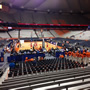 Syracuse Orange Seat View for Carrier Dome Section 104