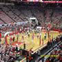 NC State Wolfpack Seat View for PNC Arena Section 107